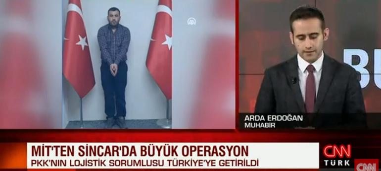 Son dakika... MİTten operasyon Sincarda yakalandı, Türkiyeye getirildi
