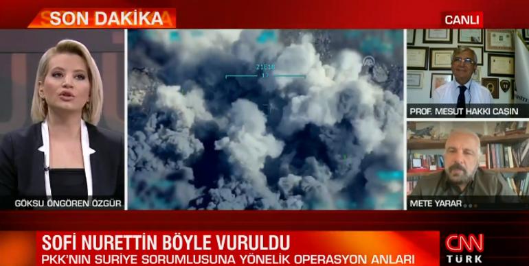 Son dakika: Sofi Nurettin böyle vuruldu Milli Savunma Bakanlığı çarpıcı görüntüyü yayınladı